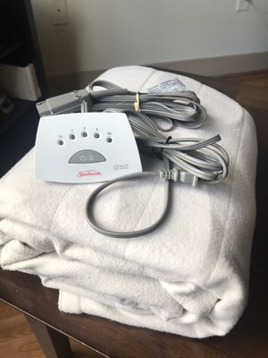 Sunbeam electric blanket for Sale in Atlanta, GA