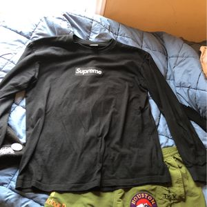 Supreme Box Logo Long sleeve for Sale in Cary, NC
