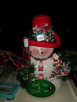 Billiard Snow Man for Sale in Charlotte, NC