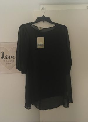Free XS sheer black shirt for Sale in Henderson, NV