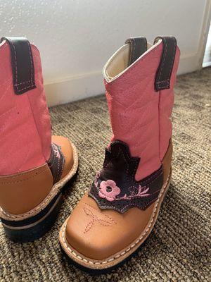 Kids at Clinks Girls Girls Lucca Tall Tan Boots