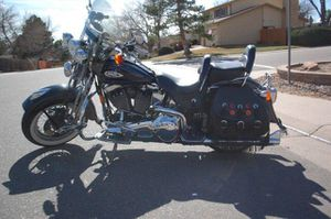 1998 Harley Davidson Heritage Springer Softail 95th Anniversary 13,500 Miles Absolutely Beautiful for Sale in Denver, CO