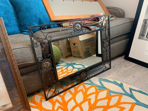 Wrought iron mirror for Sale in Gresham, OR