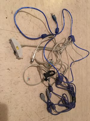 Gameboy advance game link cables and GameCube gba link cable for Sale in Jacksonville, FL