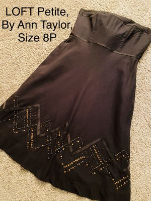 LOFT Petite by Ann Taylor, Brown Strapless Dress, Size 8P for Sale in Phoenix, AZ