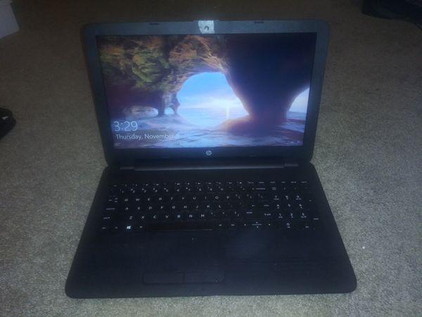 "HP - 15.6"" Laptop - AMD A6-Series - 4GB Memory - AMD Radeon R4 - 1TB Hard Drive - HP Finish In Jet Black"
