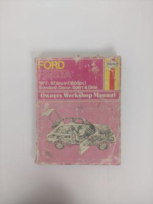 HAYES FORD FIESTA 1977 REPAIR MANUAL for Sale in Scottsdale, AZ