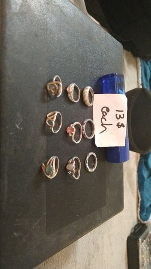10$ Sterling silver rings for Sale in Spindale, NC