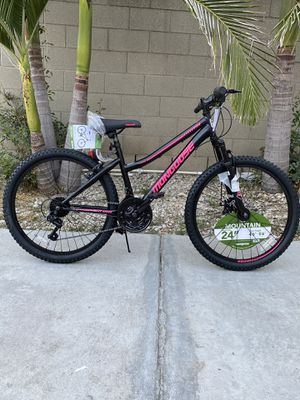 Brand new girls womens 24 inch mongoose 21 speed mountain bike for Sale in City of Industry, CA