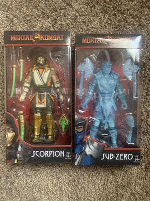 Mortal Kombat McFarlane action figures for Sale in Clovis, CA