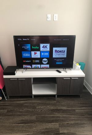 """TCL Rocu TV 43"""" for $250.00! for Sale in VA, US"""
