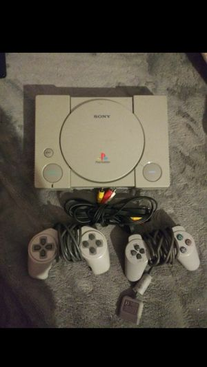 PlayStation 1 with controllers for Sale in Cypress, CA