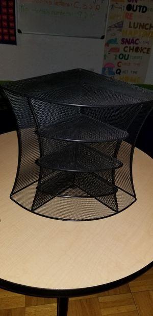 Safco 2-Way Desktop Organizer Onyx Wire Mesh for Sale in Brooklyn, NY