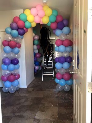 Balloon Garland Balloon Arch #2 balloons for Sale in North Las Vegas, NV