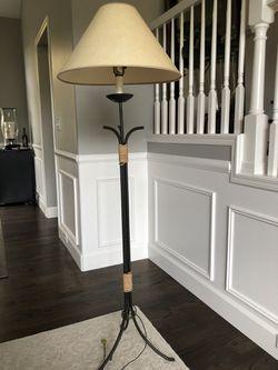 Wrought iron floor lamp for Sale in Bellevue,  WA