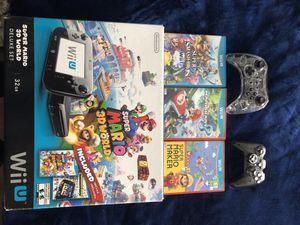 Wii U Deluxe Set (barely used) for Sale in Alvarado, TX