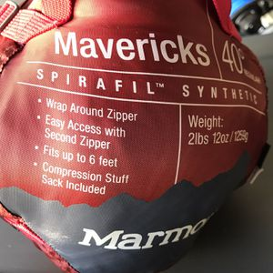 Marmot Mavericks 40 Sleeping Bag for Sale in Irvine, CA