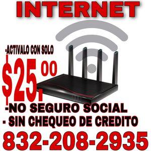 Internet y electricidad for Sale in Houston, TX