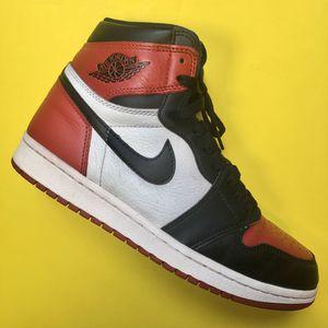 Jordan 1 'Bred Toe' - Size 8 for Sale in Annandale, VA