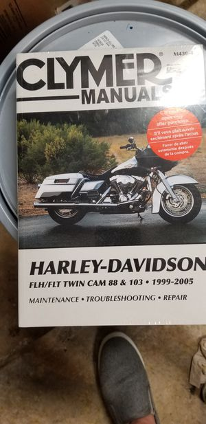 Clymer Manual for Harley Davidson motorcycles for Sale in San Antonio, TX