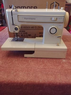 Vintage Kenmore Sewing Machine for Sale in North Springfield, VA