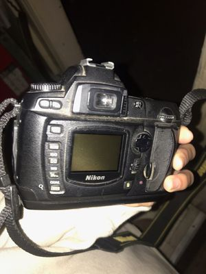 Nikon professional camera for Sale in Hanford, CA