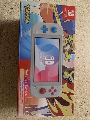 Nintendo Switch Lite Pokémon Zacian and Zamazenta Edition for Sale in Tucker, GA