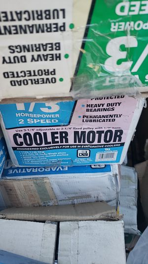 Cooler motors for Sale in Pomona, CA