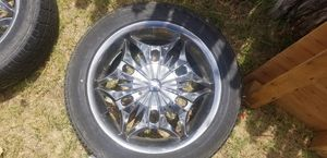 Rims with tires for Sale in Midland, TX