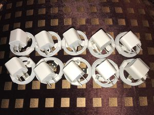 10 sets of brand new apple iPhone chargers for Sale in Citrus Heights, CA