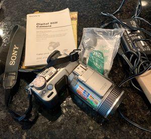 Sony Cybershot DSC-F707 w/case for Sale in Affton, MO