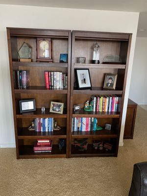 Bookshelves - solid wood for Sale in Tempe, AZ