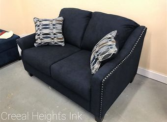 💢💢Creeal Heights Ink Living Room Set(LOVESEAT AND SOFA) byAshley🤟🤟 for Sale in Greenbelt,  MD