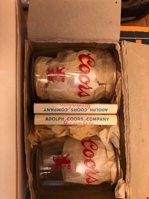 Collectible glasses.....Coors beer tasting room glasses for Sale in Stockton, CA