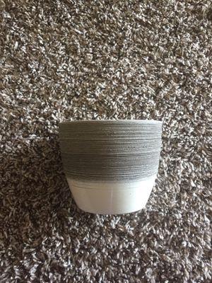 Clay coated plant pot for Sale in Farmington Hills, MI