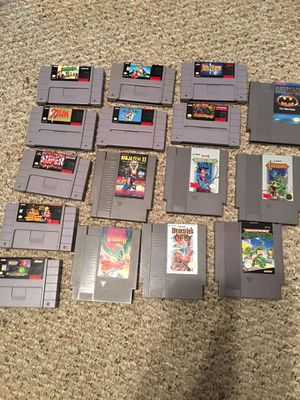 Nintendo and Super Nintendo games for Sale in Millersville, MD
