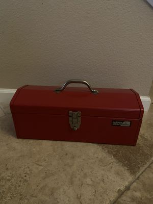 Handi Craft Red Metal Tool Box for Sale in Escondido, CA