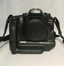 Canon EOS Elan 7e 35mm SLR Camera Body, Battery Pack, Remote for Sale in Bakersfield, CA