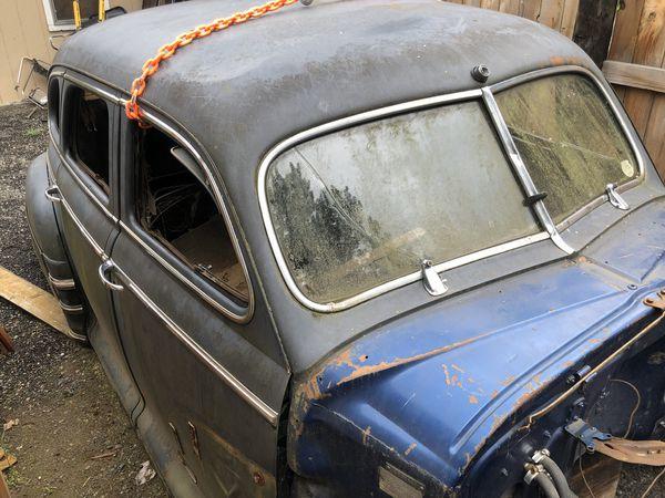 ****UPDATE*** FREE 1948 Buick 4 door shell, 40 series NO TITLE