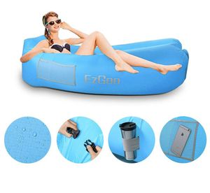 Inflatable Lounger Waterproof Air Lounger Sofa with Anti-Air Leaking Design Hammock for Lakeside Beach Travelling, Camping Picnics or Festivals for Sale in Peoria, AZ