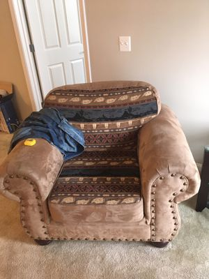 Southwest Style Couch & Over-sized Chair for Sale in Manassas, VA
