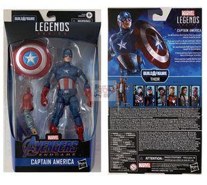 CAPTAIN AMERICA & BRO THOR BAF Piece Hasbro Marvel Legends 6inch FIGURE for Sale in Rancho Cucamonga, CA