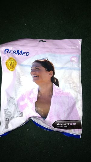 ResMed Quattro FX for her. Mask size small unopened new item for Sale in Pomona, CA