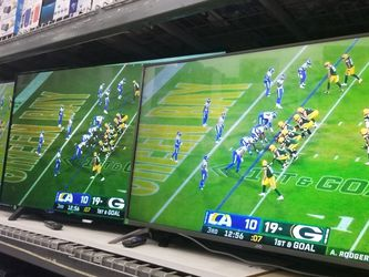 TVS TVS TVS. GET BRAND NEW TVS WITH WARRANTY FOR YOUR MONEY HERE. FINANCING AVAILABLE. 100 DAYS NO INTEREST SAME AS CASH for Sale in Huntington Park,  CA