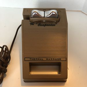 Vintage Amway Polorator Thermal Massager With Base Tested Clean The Companion for Sale in San Diego, CA