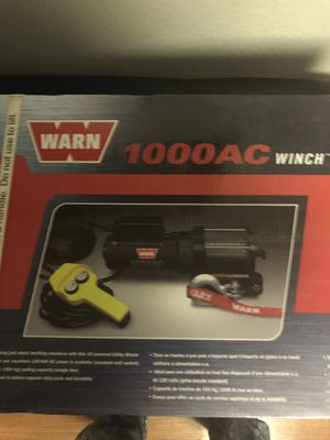 Warn 1000AC Winch for Sale in Sacramento, CA