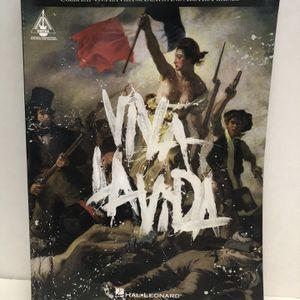 Coldplay Viva La Vida (Guitar Instrument Notes Book) for Sale in Garden Grove, CA