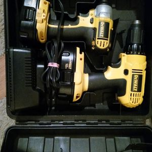 Dewalt 18V DC759 Drill Driver/DC825 Impact Combo With 2 Batteries And Charger for Sale in San Diego, CA