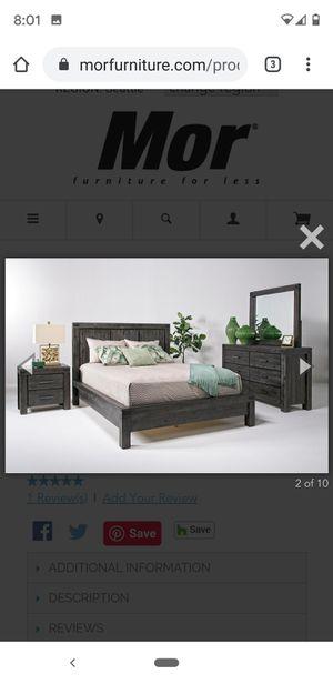 Mor Queen size bedroom set for Sale in Marysville, WA