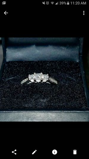 3 Stone Engagement Ring for Sale in Boston, MA